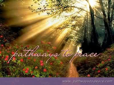 Path ways to peace